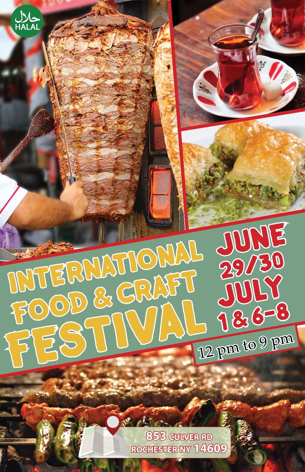 Festival 2018 (June 29- July 1 and July 6-8)